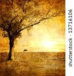 Golden Sunset   Artistic Toned...