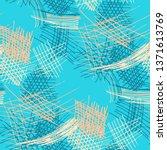 various pencil hatches.... | Shutterstock .eps vector #1371613769