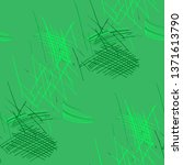 various pencil hatches.... | Shutterstock .eps vector #1371613790