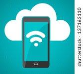 cloud computing   Shutterstock .eps vector #137163110