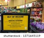 Nationwide helium shortage...