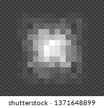 blured grey squares censorship... | Shutterstock .eps vector #1371648899