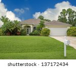 typical southwest florida... | Shutterstock . vector #137172434