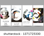 the minimalistic vector... | Shutterstock .eps vector #1371725330