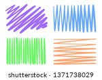 hatch backgrounds with array of ... | Shutterstock .eps vector #1371738029