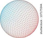 vector background of an... | Shutterstock .eps vector #137175344