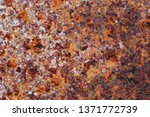 rusted metal texture. rusted... | Shutterstock . vector #1371772739