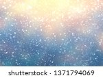 winter outdoor cool background. ... | Shutterstock . vector #1371794069