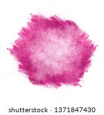 launched colorful powder ...   Shutterstock . vector #1371847430