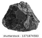 Coal Isolated On White...