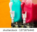 Close Up Of Slush Machine....