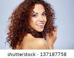 closeup portrait of a... | Shutterstock . vector #137187758