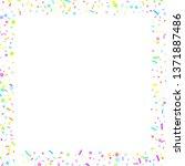 sprinkles grainy. cupcake... | Shutterstock .eps vector #1371887486