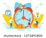 an objective assessment... | Shutterstock .eps vector #1371891800
