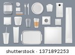 food and drink packaging vector ... | Shutterstock .eps vector #1371892253