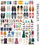 vector  isolated  set of... | Shutterstock .eps vector #1371897683