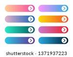 vector set of modern gradient... | Shutterstock .eps vector #1371937223