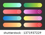 vector set of modern gradient...