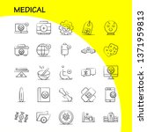 medical hand drawn icons set...
