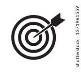 target icon vector | Shutterstock .eps vector #1371961559