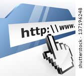 web surfing concept vector... | Shutterstock .eps vector #137196248