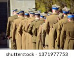 officers of army in gala...   Shutterstock . vector #1371977753