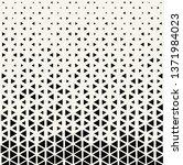 triangle halftone pattern ... | Shutterstock .eps vector #1371984023