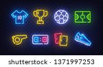 football icon set isolated.... | Shutterstock .eps vector #1371997253