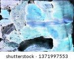 sea ocean waves blue white... | Shutterstock . vector #1371997553