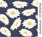 pattern seamless hand drawn... | Shutterstock .eps vector #1372026566