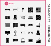 house solid glyph icon for web  ...