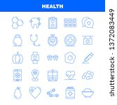 health line icon for web  print ... | Shutterstock .eps vector #1372083449