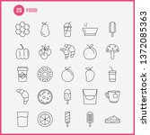 food line icon for web  print... | Shutterstock .eps vector #1372085363