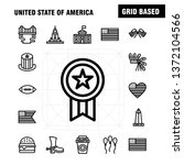usa line icon pack for...