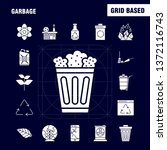 garbage solid glyph icon for...