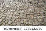 cobbled pavement full frame...   Shutterstock . vector #1372122380