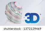 artificial intelligence  cloud... | Shutterstock .eps vector #1372129469