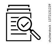 magnifying glass like check...   Shutterstock .eps vector #1372131239
