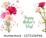 horizontal mother's day ... | Shutterstock .eps vector #1372156946