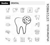 dental hand drawn icons set for ...