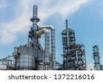 oil industries plant   the... | Shutterstock . vector #1372216016