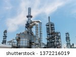 oil industries plant   the... | Shutterstock . vector #1372216019