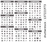 basic icons set  business  auto ...
