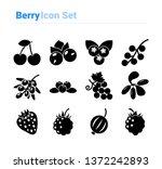 Berries Icon Set Icon Set Of...