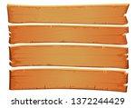 vector wooden mahogany texture. ... | Shutterstock .eps vector #1372244429