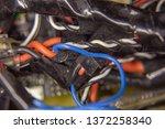 wiring harness in wiring | Shutterstock . vector #1372258340