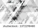 distressed grunge geometric... | Shutterstock .eps vector #1372298480