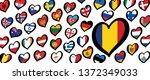 song festival euro songfestival ... | Shutterstock .eps vector #1372349033