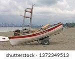 Lifeguard Paddle Board And...