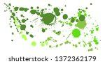 graffiti spray stains grunge... | Shutterstock .eps vector #1372362179